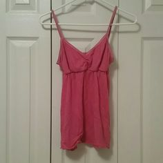 Pink  camisole Gently used camisole great to wear alone or as an undershirt. puella Tops Camisoles