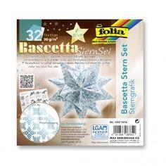 Kit Origami Étoile blanc bleu 20cm : Chez Rentreediscount Loisirs créatifs Decoration Originale, Origami, Kit, White Paint Color, Graphic Patterns, Creative Art, Creative Crafts, Belgian Blue, Origami Paper