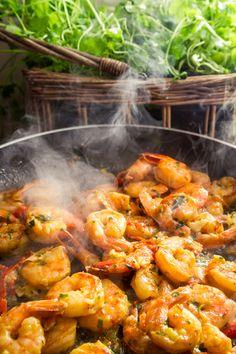 Avocado and Shrimp Fajitas