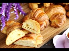 Quick Croissant Recipe - Homemade Easy Cheese Croissants Recipe - Heghineh.com - YouTube