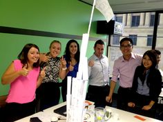 Day #12 The back table bandits very own Burj Khalifa at Orientation in Sydney