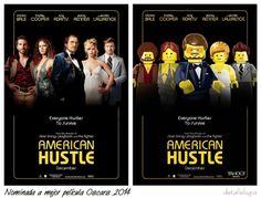 American Hustle-Peliculas nominadas al Oscar 2014 by LEGO