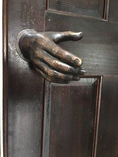 Cool Doors, Unique Doors, Door Design, House Design, Door Knobs And Knockers, Goth Home Decor, Bronze, Gothic House, Cool Furniture