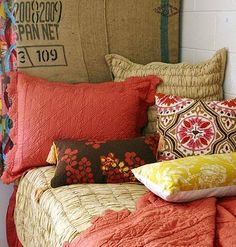 Headed to the Dorm Room this Fall? Here's a tip for bedding, from interior designer Katherine M., to take with you