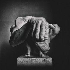 More Hands by Jörg Heidenberger, art work Body Art Photography, Surrealism Photography, Monochrome Photography, Abstract Photography, Black And White Photography, Photography Portraits, Photography Ideas, No Photoshop, Weird Creatures