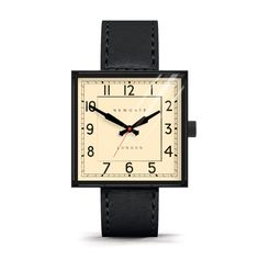 The Grand Cube Black | Newgate Watches | Wolf & Badger