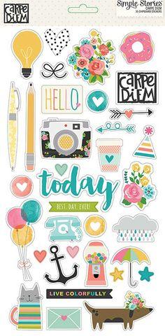 Simple+Stories+-+Carpe+Diem+Collection+-+Chipboard+Stickers+at+Scrapbook.com
