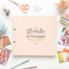 Album Photo, Photo Book, Craft Gifts, Diy Gifts, Mini Album Scrapbook, Mr Wonderful, Fitness Planner, Notebook Design, Love Gifts