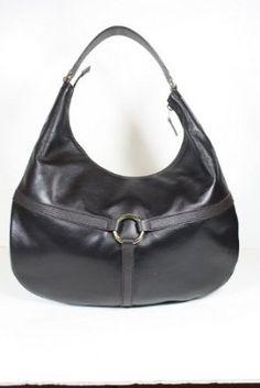 Gucci Handbags Dark Brown (Like Black) Leather 257292: Amazon.com: Clothing