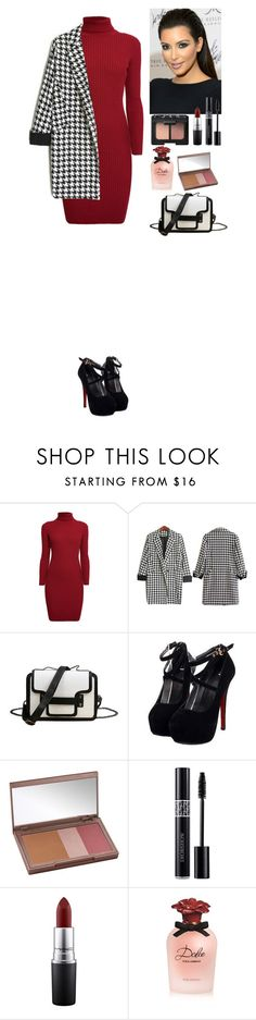 """""""Outfit TOMTOP"""" by eliza-redkina ❤ liked on Polyvore featuring Rumour London, Urban Decay, Christian Dior, MAC Cosmetics, Dolce&Gabbana, NARS Cosmetics, StreetStyle, outfit, like and look"""