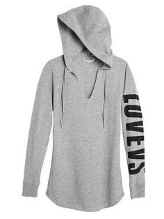 Graphic Fleece Tunic