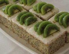 Kivili Haşhaşlı Pasta Tarifi - Resimli Kolay Yemek Tarifleri