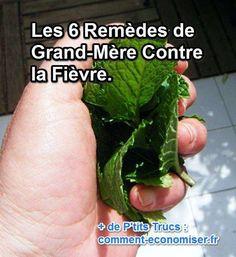 Les 6 Remèdes Naturels de Grand-Mère Contre la Fièvre. Health And Beauty, Feel Good, Medicine, Health Fitness, Tips, Food, Nutrition, Simple, Photos