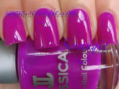 Jessica Purple Burst (Bright Neon Ultraviolet/Fuchsia)