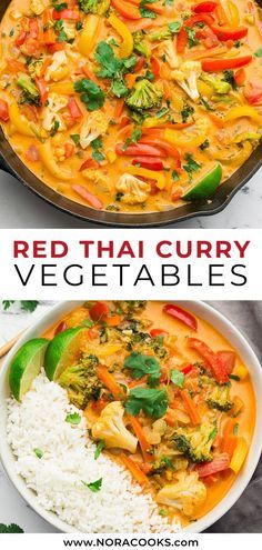 Vegetarian Curry, Tasty Vegetarian Recipes, Vegan Dinner Recipes, Vegan Dinners, Veggie Recipes, Indian Food Recipes, Asian Recipes, Whole Food Recipes, Cooking Recipes