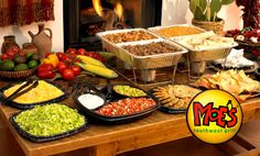 Moes_catering!!!! Would love this for my bridal shower! Maybe couples shower would be better with Moes