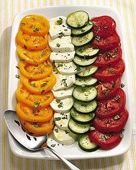 Cucumber and Tomato Salad Caprese Recipe | Flickr - Photo Sharing!