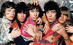 The Rolling Stones, publicity photo for Their Satanic Majesties Request 1968