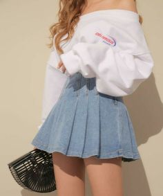 Teen Fashion Outfits, Mode Outfits, Retro Outfits, Girly Outfits, Cute Casual Outfits, Vintage Outfits, Fasion, Korean Fashion Teen, Ulzzang Fashion