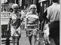 Women strolling down Essex Street in 1975. #newyork #vintage
