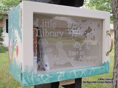 """Little Free Libraries promote literacy. The concept is simple, """"Take a book. Leave a book."""" In 2009 Todd Bol of Hudson, Wisconsin built a small schoolhouse-shaped structure, filled it with books, and mounted it on a pole as a tribute to his mom, June A. Bol, a school teacher. There are now 1,500 Little Libraries. They can be found in more than 40 states and 20 countries."""