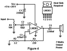 Electronics Projects For Beginners, Electronics Mini Projects, Electronics Basics, Hobby Electronics, Dc Circuit, Circuit Diagram, Audio Amplifier, Audiophile, Speakers