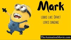 What are the names of despicable me minions characters exactly? Most of them are despicable me 2 characters. Let's know minions names. Happy Minions, Minions Bob, Minion S, Evil Minions, Cute Minions, Despicable Me 3, Minion Names, Amigurumi