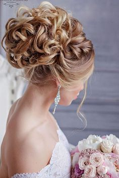 Long wedding hairstyles and wedding updos from Websalon Weddings 52