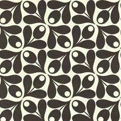 Small Acorn Cup Wallpaper Ebony