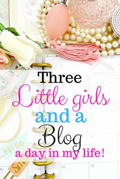 Day in the Life of a Full Time Blogger and Mama #blog #blogging