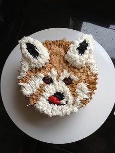 Amazing Red Panda Cake
