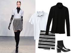 9Ways to Style a Turtleneck for Fall - Witha Polo  - from InStyle.com
