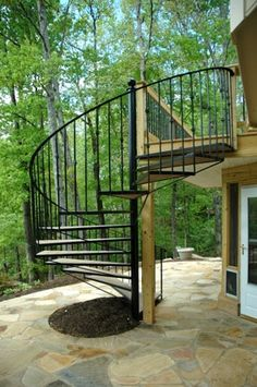 High Quality Stairs And Spiral Stairs   Atlanta Decks And Fences From Atlanta Decking  And Fence Company
