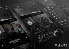 coLLLage for KLWP: miniatura de captura de pantalla