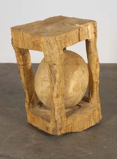 Bryan Nash Gill - Gallery  Ball and Box Sugar Maple, 1993