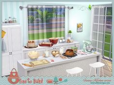 The Sims Resource: Funny kitchen series - Time to bake by SIMcredible • Sims 4 Downloads