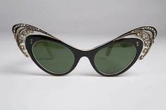 6b7dfe1192a3 (Oh Lordy)Vintage Cat Eye glasses from Hotel De Ville Eyewear