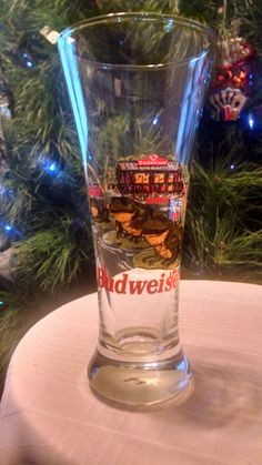 Vintage Budweiser Pilsner Glasses with the Budweiser Frogs. Great Collectable Breweriana from 1996. by PawPawsFrontPorch on Etsy