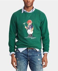 184385de4e42 Polo Ralph Lauren Polo Bear Sweater - Sweaters - model  broderick ...