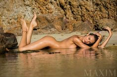 Candice Swanepoel By Giles Bensimon For Maxim Magazine March2015 - 3 Sensual Fashion Editorials | Art Exhibits - Women's Fashion & Lifestyle News From Anne of Carversville