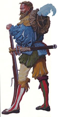 Let us take a gander at 12 marvelous warrior armor ensembles from history you should know about, from ancient to late medieval period. Character Concept, Character Art, Character Design, Renaissance, Military Art, Military History, German Costume, Thirty Years' War, Landsknecht