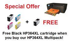 Mega Pack, Hewlett Packard, Hp Printer, Free Black, Free Delivery, Packing, Link, Bag Packaging