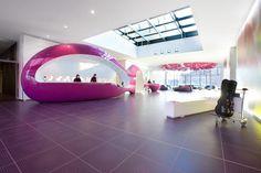 Nhow hotel in Berlin, interior by Karim Rashid