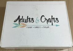 Check out our review of the June 2016 Adults & Crafts Subscription Box!