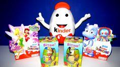 Kinder Surprise Masha and the Bear Маша и Медведь, Disney Fairies, Surpr...