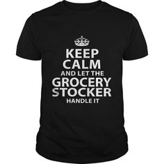 GROCERY STOCKER T-Shirts, Hoodies. BUY IT NOW ==► https://www.sunfrog.com/LifeStyle/GROCERY-STOCKER-118461959-Black-Guys.html?id=41382
