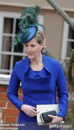 Countess of Wessex, March 31, 2013 in Jane Taylor   Royal Hats