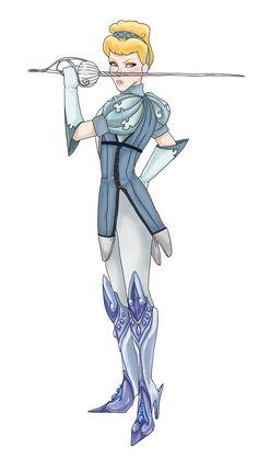 Warrior Princess: Cinderella