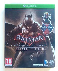 Batman Arkham Knight - Special Ed. XboxONE by Warner Br. - Usato Pari al NUOVO