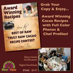 Our New Raw Recipe E-Book Collection